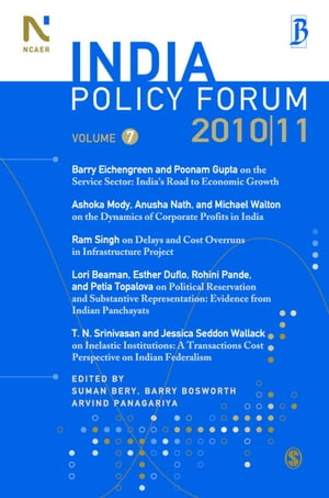 India Policy Forum 2010-11: Volume 7 by Suman Bery