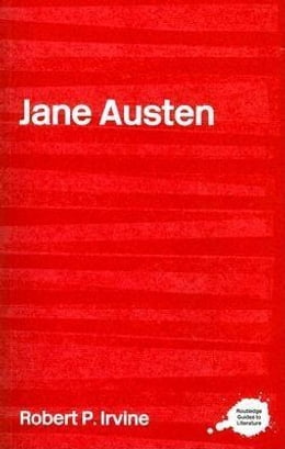 Book Jane Austen by Irvine, Robert