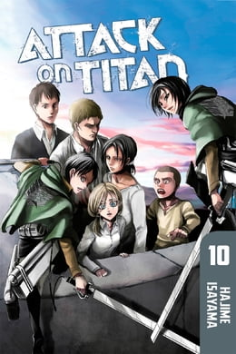 Book Attack on Titan: Volume 10 by Hajime Isayama