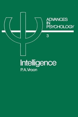 Book Intelligence by Vroon, P.A.
