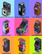 Top 50 arcade cabinets: Return learn games by J Horsfield @ Hearts Minds Media