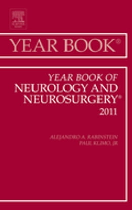 Book Year Book of Neurology and Neurosurgery by Alejandro Rabinstein