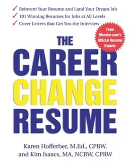 Book The Career Change Resume by Hofferber, Karen