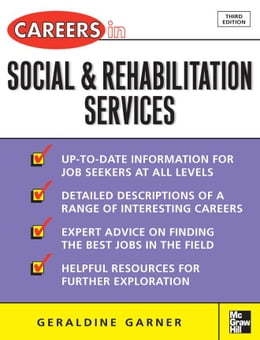 Book Careers in Social and Rehabilitation Services by Garner, Geraldine