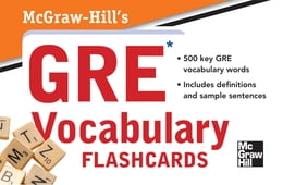 Book McGraw-Hill's GRE Vocabulary Flashcards by Steven W. Dulan