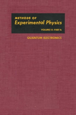 Book Quantum Electronics by Tang, C.L.