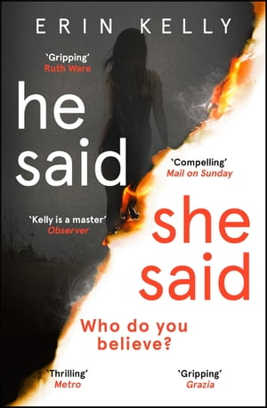 He Said/She Said The Sunday Times bestselling Richard and Judy Book Club thriller 2018