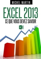 Excel 2013 by Michel Martin