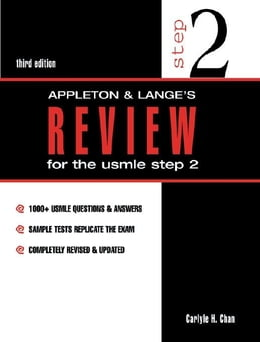 Book Appleton & Lange's Review for the USMLE Step 2 by Chan, Carlyle