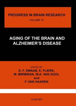 Book AGING OF THE BRAIN AND ALZHEIMER'S DISEASE by Swaab, Dick F.