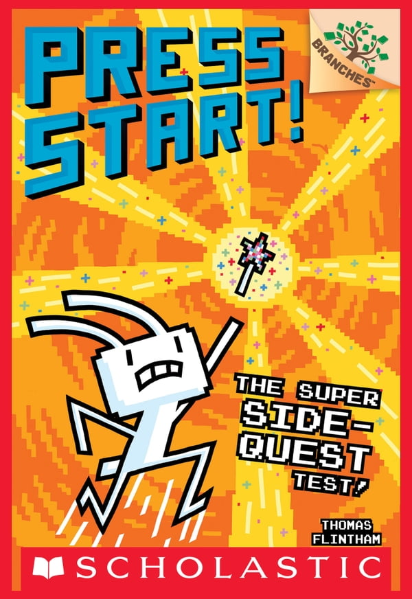The Super Side-Quest Test!: A Branches Book (Press Start! #6