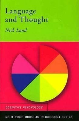 Book Language and Thought by Lund, Nick