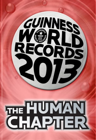 Guinness World Records 2013 Chapter: The Human Chapter