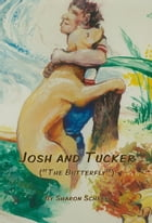 Josh and Tucker (the butterfly) by Sharon Scheer