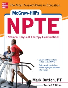 Book McGraw-Hills NPTE National Physical Therapy Exam, Second Edition by Mark Dutton