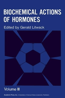 Book Biochemical Actions of Hormones V3 by Litwack, Gerald