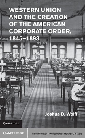 Western Union and the Creation of the American Corporate Order,  1845?1893