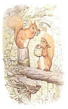 Tale of Squirrel Nutkin (Illustrated) by Beatrix Potter