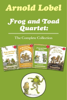 Book Frog and Toad Quartet: The Complete Collection: I Can Read Level 2: Frog and Toad are Friends, Frog… by Arnold Lobel