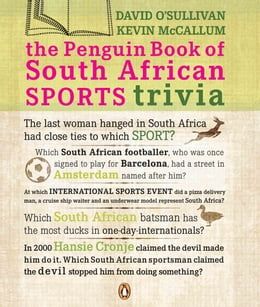 Book The Penguin Book Of South African Sports Trivia by David O'Sullivan