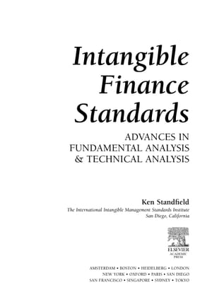 Intangible Finance Standards: Advances in Fundamental Analysis and Technical Analysis