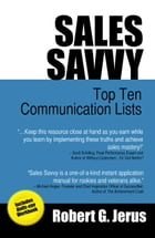 Sales Savvy: Top Ten Communication Lists