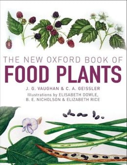 Book The New Oxford Book of Food Plants by John Vaughan