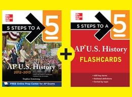 Book 5 Steps to a 5 AP U.S. History Practice Plan by Stephen Armstrong