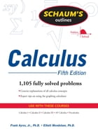 Schaums Outline of Calculus 5/E (ENHANCED EBOOK) by Elliott Mendelson