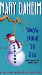 Snow Place to Die: A Bed-and-Breakfast Mystery by Mary Daheim