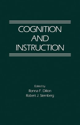 Book Cognition and Instruction by Dillon, Ronna F.