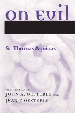 Book On Evil by Aquinas, Thomas