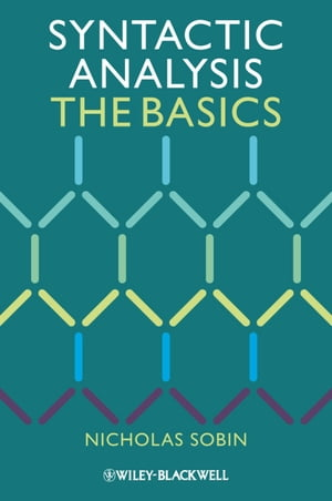 Syntactic Analysis The Basics