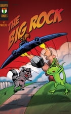 The Big Rock Comic Strip Book: Old School Comic Strips with 128 Black & White Pages of fun! by Leo Brophy