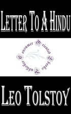 Letter to a Hindu by Leo Tolstoy