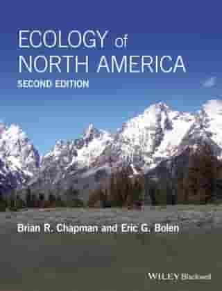 Ecology of North America by Brian R. Chapman
