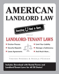 American Landlord Law: Everything U Need to Know About Landlord-Tenant Laws: Everything U Need to…