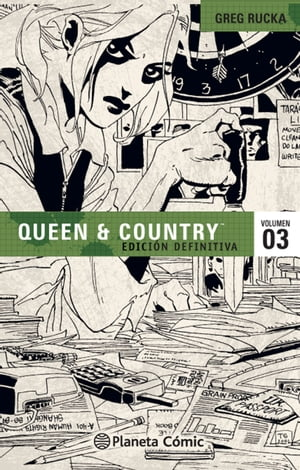 Queen and Country nº 03/04 by Greg Rucka