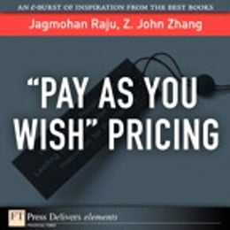 Book Pay As You Wish Pricing by Jagmohan Raju
