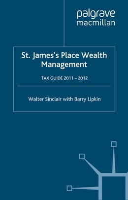 Book St. James's Place Tax Guide 2011-2012 by W. Sinclair