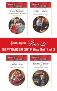 Harlequin Presents September 2015 - Box Set 1 of 2: The Greek Commands His Mistress\Traded to the…