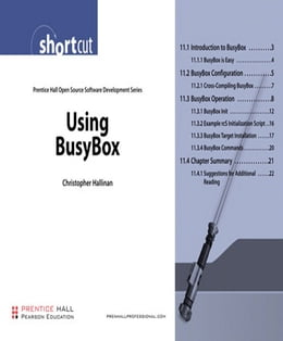 Book Using BusyBox (Digital Short Cut) by Christopher Hallinan