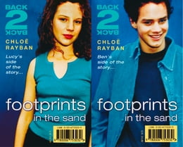 Book Footprints in the Sand (Back-2-Back, Book 1) by Chloe Rayban
