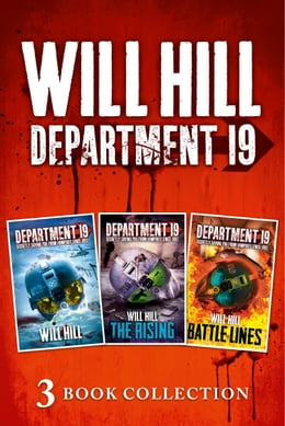 Book Department 19 - 3 Book Collection (Department 19, The Rising, Battle Lines) (Department 19) by Will Hill