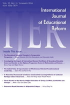 IJER Vol 25-N3 by International Journal of Educational Reform