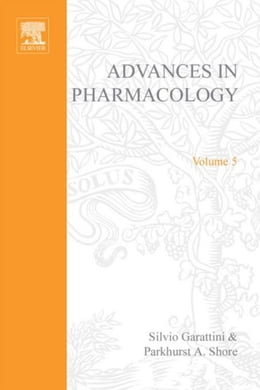 Book Advances in Pharmacology by Garattini, Silvio