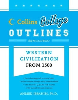 Book Western Civilization from 1500 by Ahmed Ibrahim
