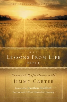 Book NIV, Lessons from Life Bible, eBook: Personal Reflections with Jimmy Carter by Jimmy Carter