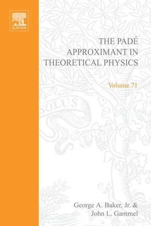 The Pad� Approximant in Theoretical Physics
