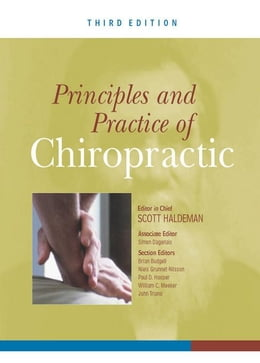 Book Principles and Practice of Chiropractic, Third Edition by Haldeman, Scott